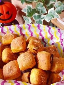 かぼちゃと豆腐で栄養満点♪パンみたいなヘルシースコーン♡