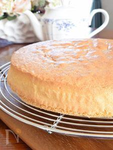 素人でもわかる!基本のスポンジケーキの作り方
