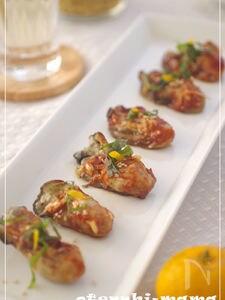 牡蠣のオイル漬け・韓国風