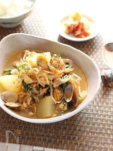 冬瓜たっぷり!!韓国風元気スープ