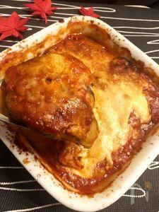 とろ~りチーズがたっぷり茄子のパルミジャーナ