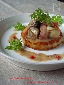 簡単!大根ステーキ♪ 牡蠣ソースで豪華な一品に。