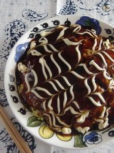 豆腐のふんわりお好み焼き。