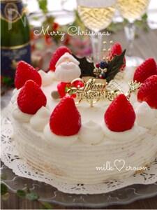 *クリスマスケーキ*