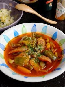 美味しくお野菜♡ナポリタンスープ!