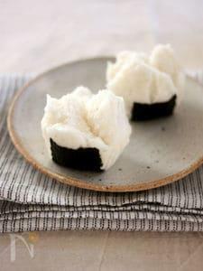 ライスミルク×米粉で作る♪おむすび蒸しパン