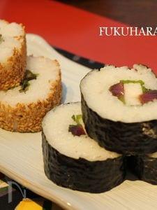 【節分に】お肉とお魚の簡単巻き寿司