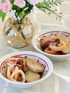 ヤリイカと里芋の煮物