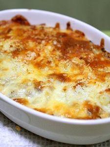 コロッケ味のチーズパン粉焼き