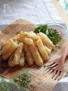 フライド大根(ニンニク醤油味)