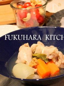 鶏手羽元と野菜のやさしさポトフ