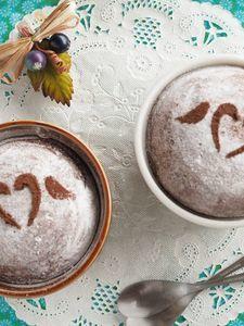 フライパンで作れるチョコミント蒸しパン☆ココア不使用