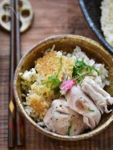 フライパンde丸ごと鶏むね肉の炊き込みご飯