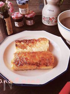 カリッふわぁ~♪キャラメリゼフレンチトースト♪