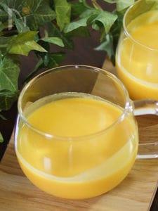 ストウブでバターナッツの冷製ポタージュスープ