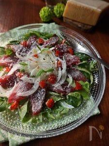パルミジャーノとマグロのフレンチサラダ