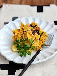 かぼちゃとりんごのデリ風サラダ【作りおき】