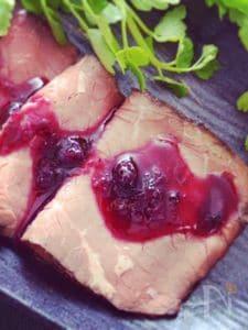お肉によく合う!ブルーベリージンジャーソース。