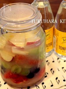 マチェドニアで作るフルーツジュース&カクテル