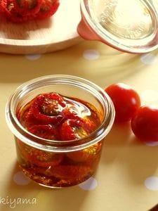 プチトマトで作る 自家製セミドライトマト