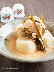 里芋の明太子煮