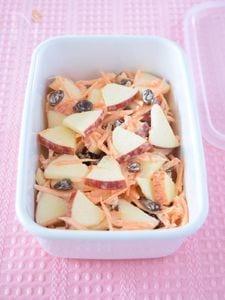 りんごとにんじんのサラダ 作り置きレシピ