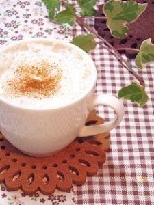 手軽におうちCafe♪ほっこりシナモンキャラメル豆乳