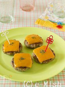 チーズごハンバーグ