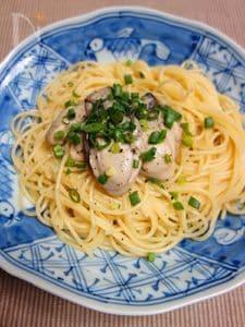 牡蠣のペペロンチーノ
