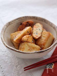 ふんわり白身魚揚げと豆腐のさっぱりポン酢炒め