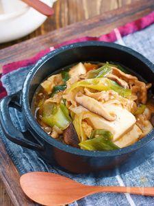 煮るだけ5分♪『豚バラ豆腐の中華風とろみ煮』