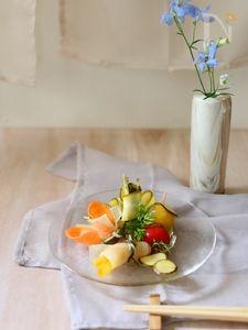 ひらひら野菜&とろけるミニトマトのピクルス