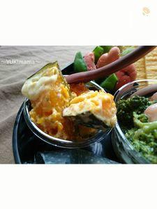 お弁当に〜かぼちゃチーズin白みそ(常備菜)〜