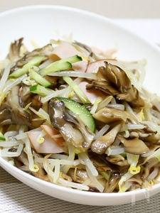 舞茸ともやしの中華サラダ