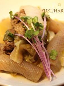 牛肉と白菜とこんにゃくの旨煮