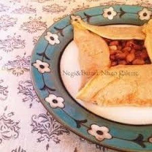 ねぎバター納豆ガレット