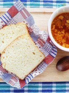 グルテンフリー大豆粉入り米粉の食パン