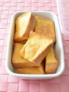 フレンチトースト 作り置きレシピ オーブンで家族分を一気に!