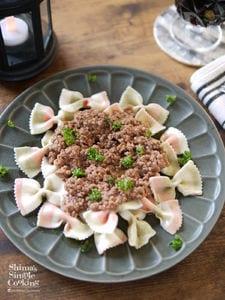 材料3つ|お手軽食材|レンチンでつくる|簡単ボロネーゼソース