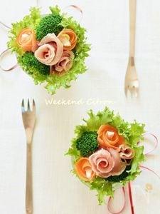 グラスdeブーケサラダ