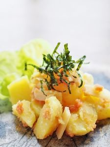 明太子パルミジャーノ・チーズポテト