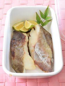 タラの西京焼き 作り置きレシピ 西京みそ風味の焼き魚です♪