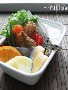 お弁当に〜マヨワインサーモンのハーブパン粉焼き(作り)〜