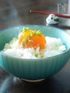 卵黄の醤油麹漬け