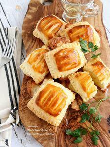 ポテトチーズパイのはちみつがけ