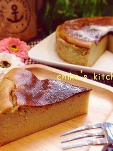 ミキサーでさつまいものメープルチーズケーキ♡