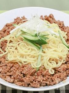 ピリッと汁なし「ジャージャー麺」