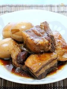 圧力鍋で基本の「豚の角煮」