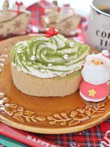5分で完成、簡単クリスマスケーキ