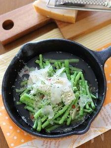 ささげのオリーブオイル煮